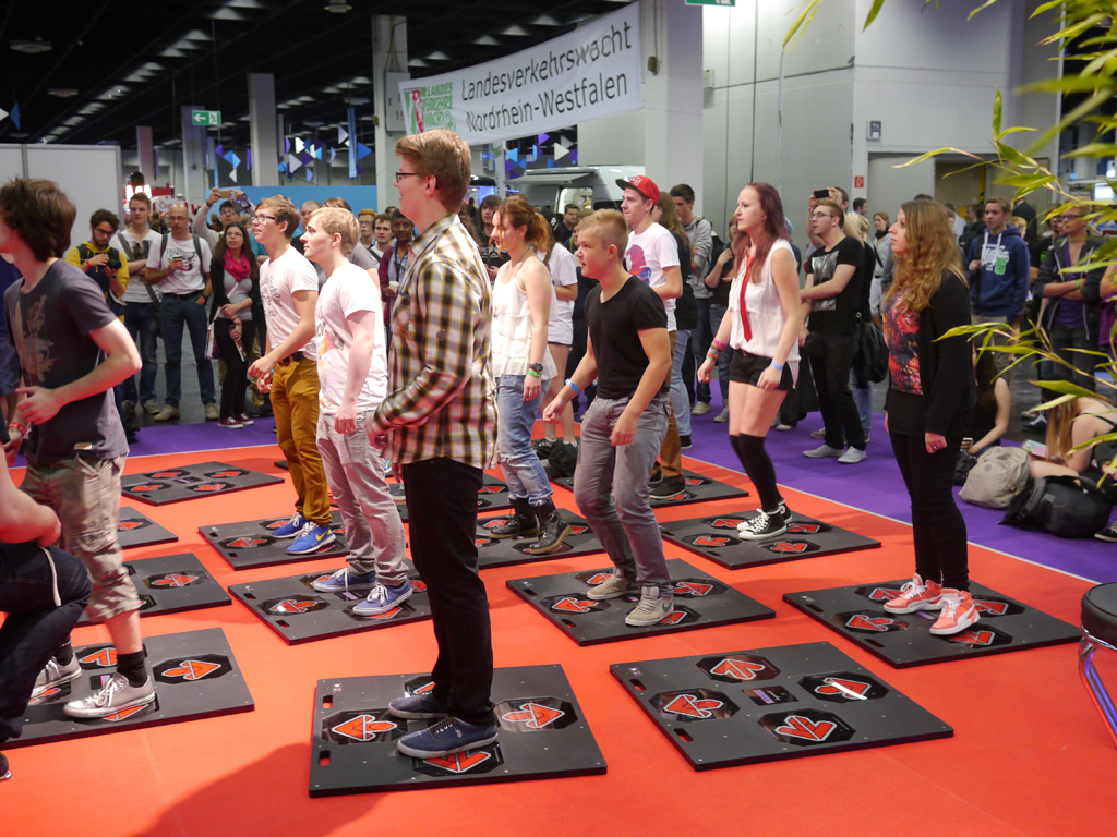 iDANCE at Gamescom with Kyle Ward