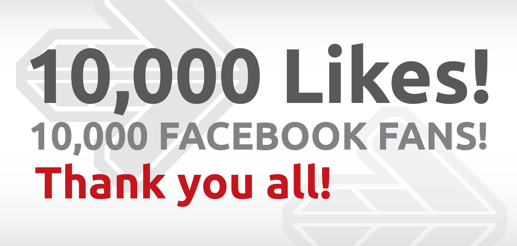 10,000 Likes on Positive Gaming's Facebook page!