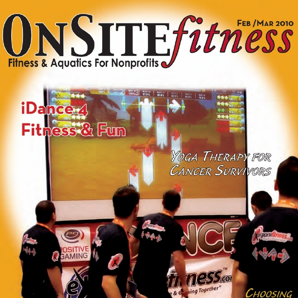 PG iDANCE featured in Onsite Fitness Magazine