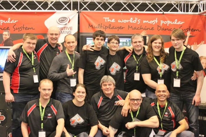 Positive Gaming at FIBO 2012