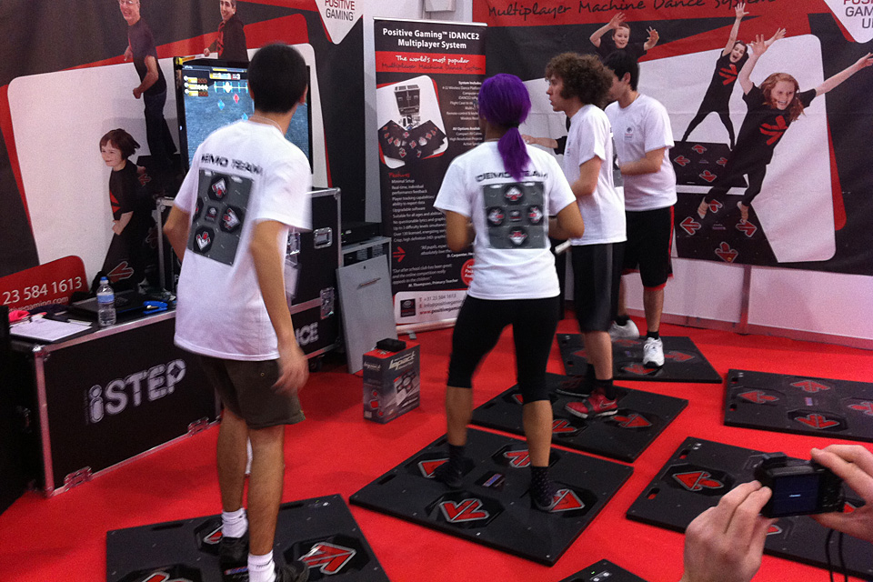 Positive Gaming at BETT 2013