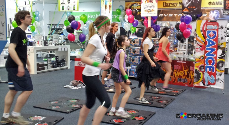 iDANCE at Harvey Norman