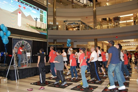 iDANCE multiplayer featured at Mall of America