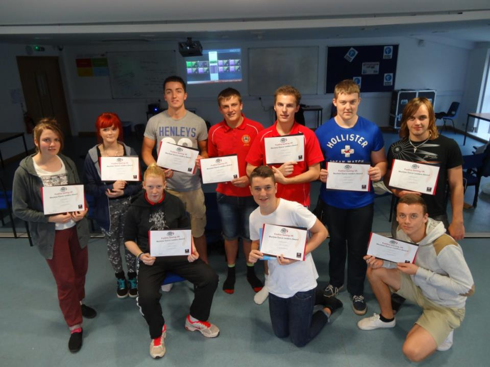 PG UK ran their first Machine Dance Leaders Course
